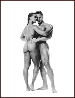 Francesco Scavullo original photograph of a male and a female nude