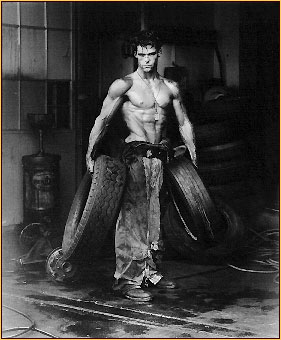 Herb Ritts original photograph of a male seminude